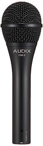 Audix OM2 - Micrófono dinámico (para voz), color negro -