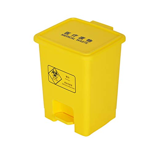 Fantastic Deal! LXF Outdoor Waste Bins Outdoor Plastic Waste bin, Trash can, Trash can, Heavy Duty C...