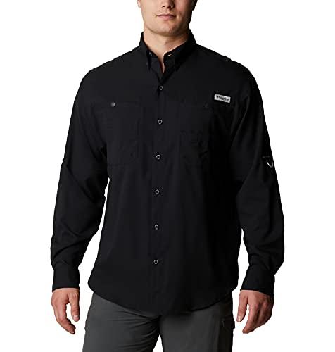 Columbia Camisa de Manga Larga Tamiami II para Hombre, Hombre, 1286061, Negro, M