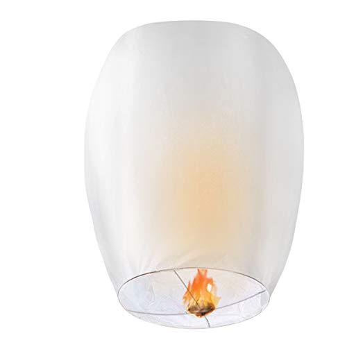 Compatible/Replacement for White Lanterns, CAMTOA 20 Pack Lanterns - 100%...