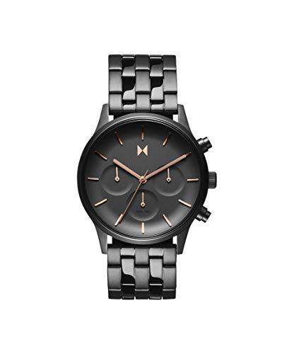 MVMT Damen Analog Quarz Uhr mit Edelstahl Armband 28000064-D