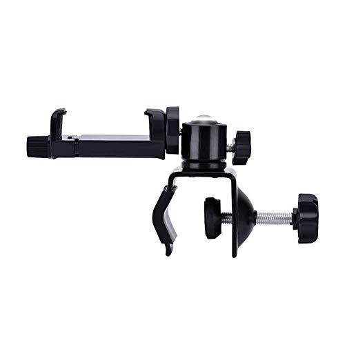 DAUERHAFT Soporte para cámara para bebés, 0-40 mm de Grosor de la Abrazadera, Clip de 52-105 mm de diámetro de la cámara, Instalado en la Cuna o Cuna, para monitoreo de Video de bebés