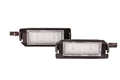Preisvergleich Produktbild 2x Neu LED SMD Kennzeichenbeleuchtung Nummernschildbeleuchtung Weiß (032111H)