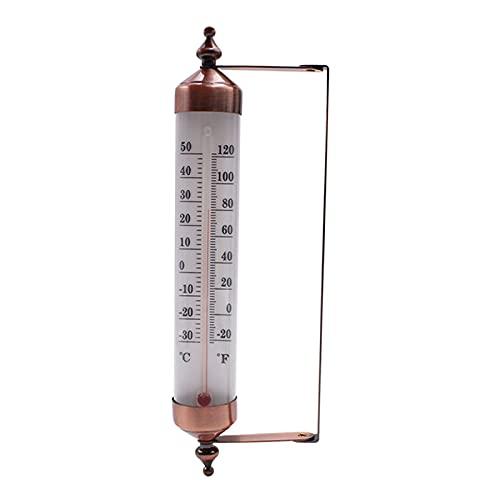 gazechimp Higrómetro de Temperatura de Pared para Jardín, Interior, Exterior, Cocina, Hogar, Oficina