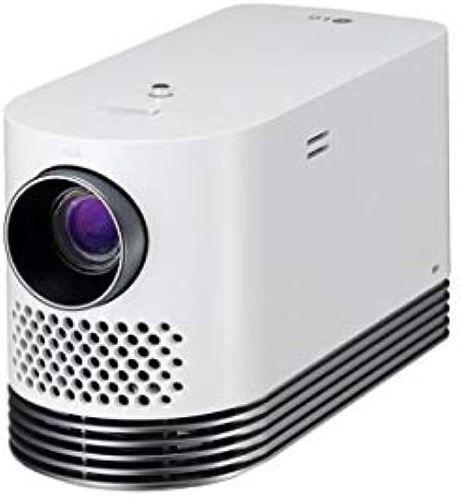 Videoproiettore lg hf80lsr ,2000 ansi lumen dlp 1080p (1920x1080) proiettore desktop bianco