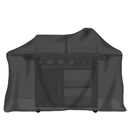 Tepro 8109 Universal Abdeckhaube - für Gasgrill extra groß, schwarz