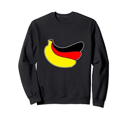 Bananenrepublik Deutschland - Bananen DDR BRD Politik Flagge Sweatshirt