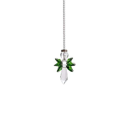 Rainbow Guardian Angel Crystal Suncatcher Beautiful Angel Handicraft Decoration Crystal Glass Guardian Angel Crystal Pendant For Home/car Decoration & Porch Decor & Hangings Crystal Glass Ornament