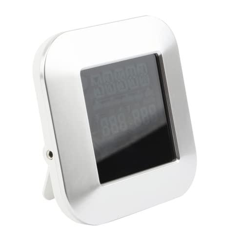 Tuzoo Termometro per Carne, termometro Digitale per Grill con Timer per Barbecue per Cucina per friggere