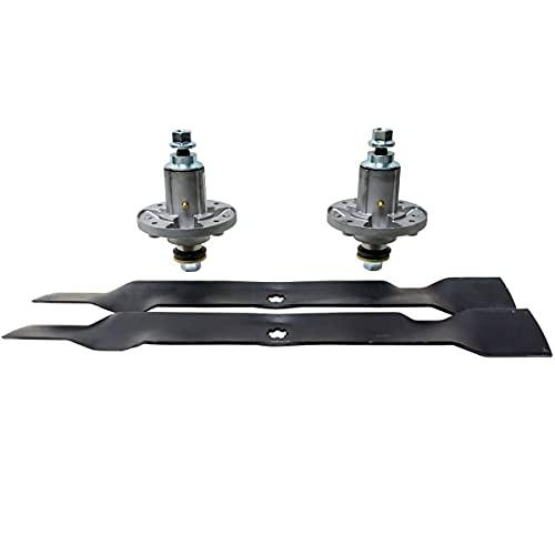 EPR Spindle Blade Kit Compatible with John Deere 42' 102 105 115 125 135 D100 D105 D110 D120 LA100 LA105 GY21098 GY20850