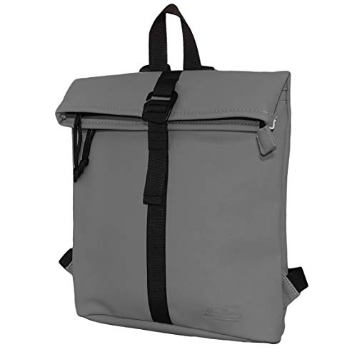 New Rebels Mart Roll-Top Backpack Anthracite Small II | Rucksack