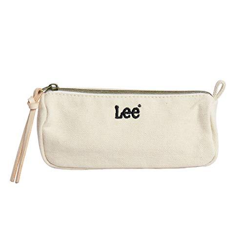 [リー] Lee ポーチ 大容量 おしゃれ マルチポーチ 化粧ポーチ ペンケース デニム かわいい 文房具 筆箱 ロゴ ミニポーチ 小さい 軽い