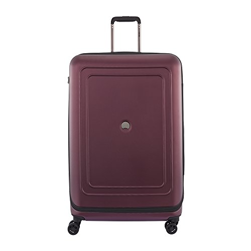 DELSEY Paris Cruise Lite Hardside 29 inch Expandable Spinner Suitcase with Lock, Black Cherry, One Size