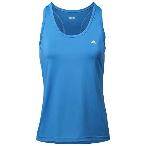 DANISH ENDURANCE Camiseta Deportiva Sin Mangas Mujer (Azul, X-Large)