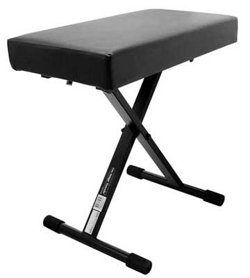 On-Stage KT7800+ Deluxe X-Style Padded Keyboard Bench