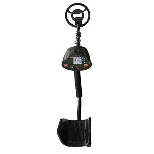Ontracker MD-5030 - Detector de metales con pantalla LCD, herramienta de excavación de oro de alta sensibilidad con mango ajustable