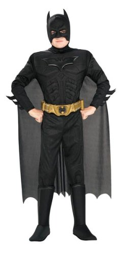Rubie's Official Batman Begins Dark Knight Muscle Chest Costume Child...