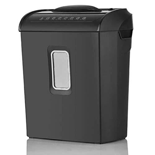 ZHGYD Pequeño portátil silencioso eléctrica Principal, CD y la Tarjeta de crédito del Ministerio del Interior Shredder