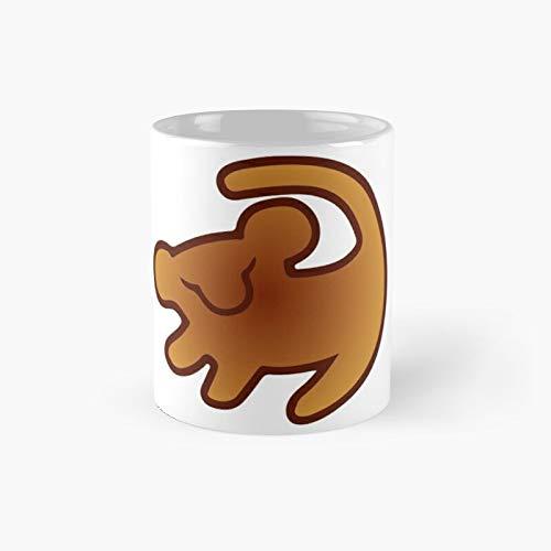Taza clásica del Rey León Marcos   El mejor regalo divertidas tazas de café de 325 ml