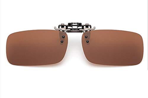MXH Metalen clip gepolariseerde zonnebril mannen en vrouwen met korte zichtbril nachtzicht bril flip bril zonnebril clip media