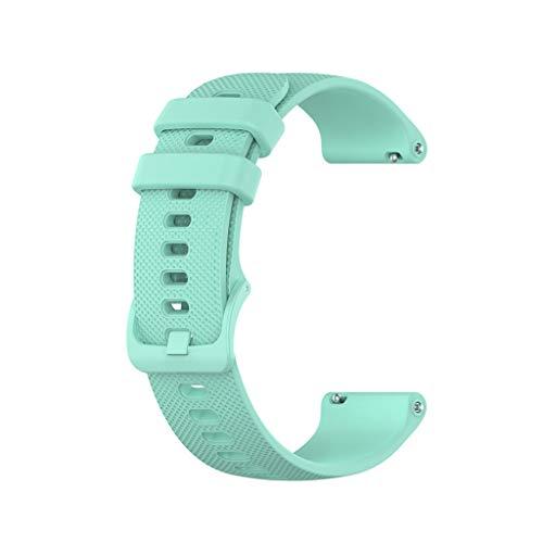 Supefriendly Bandas de 20 mm para Garmin Venu Sq Music Vivomove HR reloj inteligente deportivo de silicona