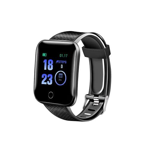TEFMA Smartwatch, Reloj Inteligente con Cronómetro, Pulsera Actividad Inteligente para Deporte, Reloj de Fitness con Podómetro Smartwatch Mujer Hombre para Xiami Huawei Teléfono