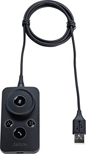 Jabra Engage Link - Mando a Distancia (Audio, Alámbrico, Botones, Negro)