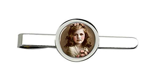 Giftshop UK Jung Viktorianisch Mädchen Krawatte Clip