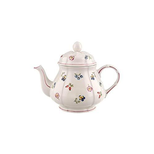 Villeroy & Boch Petite Fleur Teiera, 1 L, Porcellana Premium, Multicolore