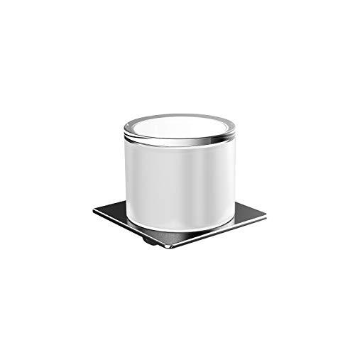 Emco Art Seifenspender, mit Stülpbecher, Inhalt 155 ml, für Flüssigseifen, Badaccessoires, für Wandmontage - 022000100