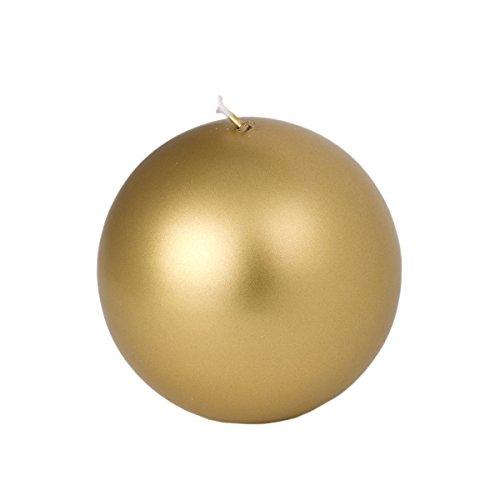 Sfera di diametro 100 mm, color oro lucido