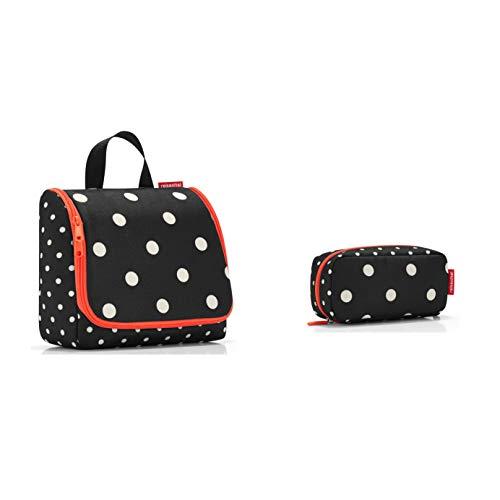 schönes reisenthel Kosmetikset Kulturtasche/toiletbag und kleine Kosmetikmäppchen/multicase in verschiedenen Dekoren (Mixed dots, L)