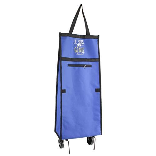 AC-Déco Carrello da Corsa Tema Sono–2Ruote–L 29cm x H 95.2cm–Blu