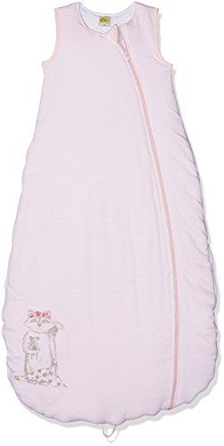 DIMO-TEX Baby-Mädchen Schlafsack Wattiert, Rosa (Rosa Gestreift 001), 70