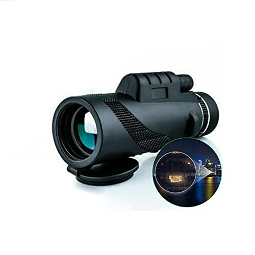 monoculares para adultosNuevo 80x100 aumento monocular portátil visión nocturna telescopio militar militar impermeable caza telescopio