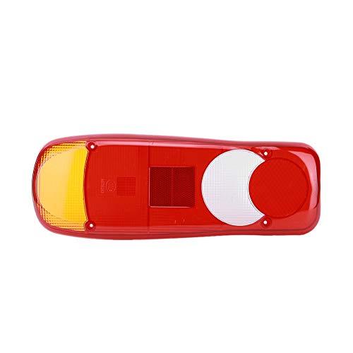 SANON 1 piezas de la cubierta de la luz trasera del camión detener la luz trasera de la luz trasera luces traseras cubierta de la lámpara para camiones camiones remolque