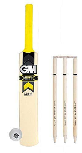 Gunn Moore Hero & YG BVT & Ball & Wheelie Cricket-Stumps Größe 3