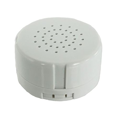 Voice Recorder Device Very with Play Back for Stuffed Animal Inserts and Craft Projects in White