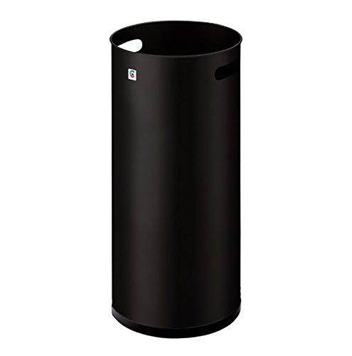 Paraguero Negro Metal Marca Cilindro