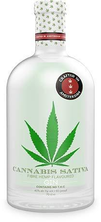 Cannabis Sativa Fibre Hemp Flavoured GIN 40% Vol. 0,7 l in Tube