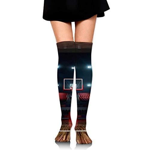 Calcetines altos para mujer, los mejores calcetines de baloncesto, escalada, fútbol, para niñas, calentadores de pierna, vestidos de punto para cosplay