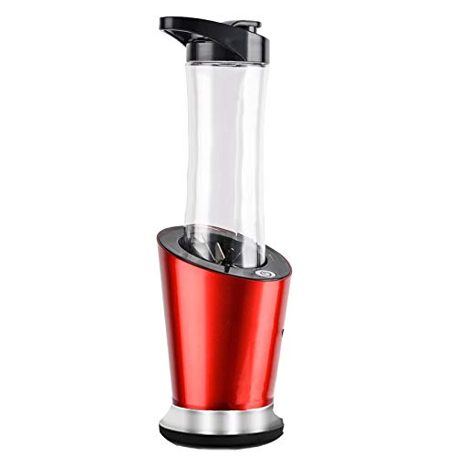 DIDIOI Entsafter, Klein Entsafter, 300W Mobile Personal Mini Blender Küchenmaschine Milkshakes Mixer Entsafter 600ml Flasche 400 ml Cup & 100Ml Grinder