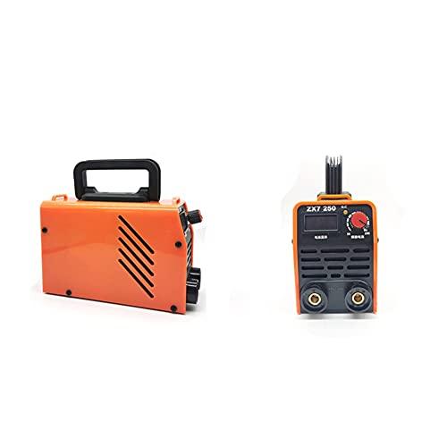 HCHL Herramientas de Soldadura 1 PC inversor ARC Máquina de Soldadura eléctrica, soldadores de 220V 200A / 250A MMA, para Trabajadores de Soldadura, Portátil (Color : ZX7 250 O)