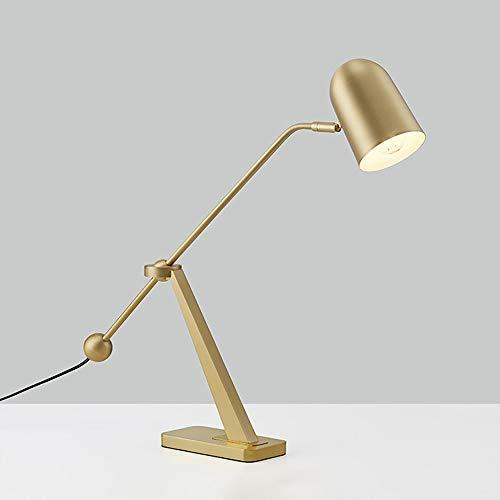 De enige goede kwaliteit Decoratie Moderne Studie Bureau Lamp Woonkamer Slaapkamer Bedkant Luxe Sfeervolle Tafellamp 40 * 56cm (vrij roteren)