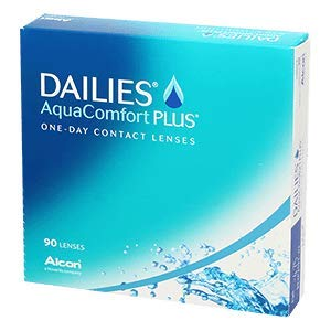 Dailies AquaComfort Plus Tageslinsen weich, BC 8.7 mm/DIA 14.0 mm / +6.5 Dioptrien, 90 Stück