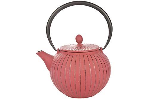 Cosy & Trendy 431221 Théière fonte Lantern, Rouge, 1,2l