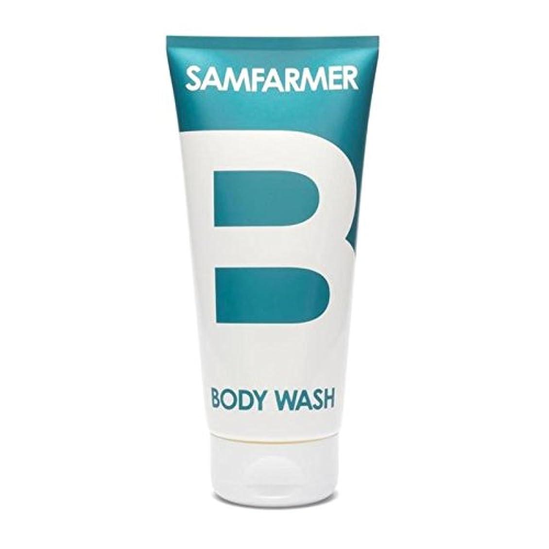 見通し前部ピラミッドSAMFARMER Unisex Body Wash 200ml (Pack of 6) - ユニセックスボディウォッシュ200ミリリットル x6 [並行輸入品]