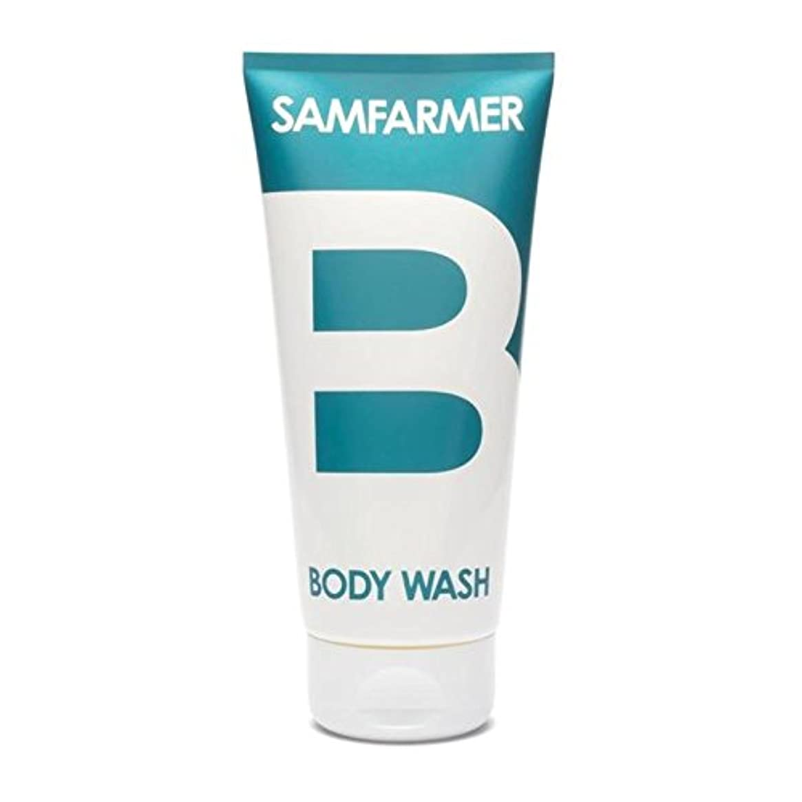 知的署名垂直ユニセックスボディウォッシュ200ミリリットル x2 - SAMFARMER Unisex Body Wash 200ml (Pack of 2) [並行輸入品]