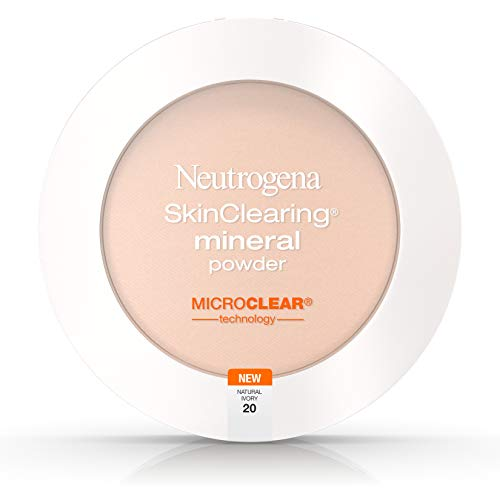Neutrogena Skinclearing Mineral Powder, Natural Ivory 20,.38 Oz. (Pack of 2)