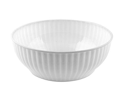 Sss 3788300 Saladier MOPLEN, 28 cm, Blanc